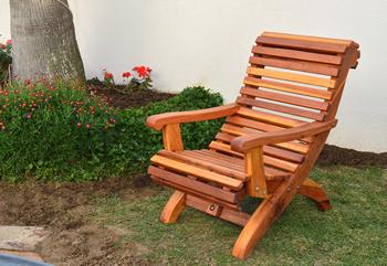Ensenada Wood Easy Chairs