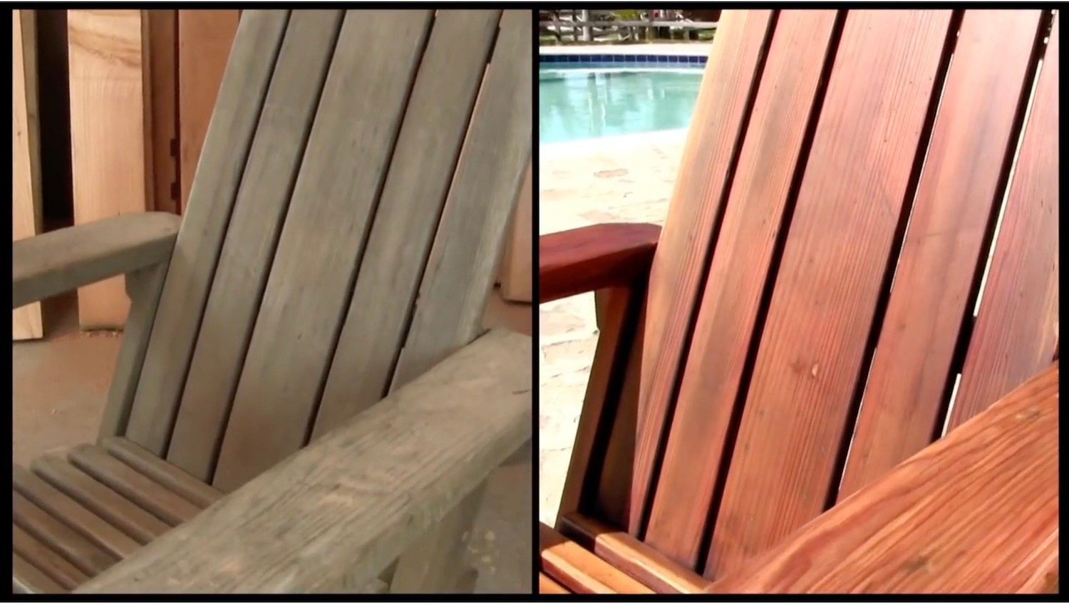 Before and After Refinish