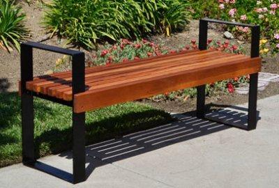 Alameda Wooden Bench