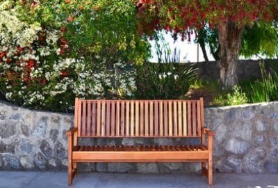 Annapolis Redwood Bench