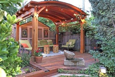 Backyard Pavilion Kits