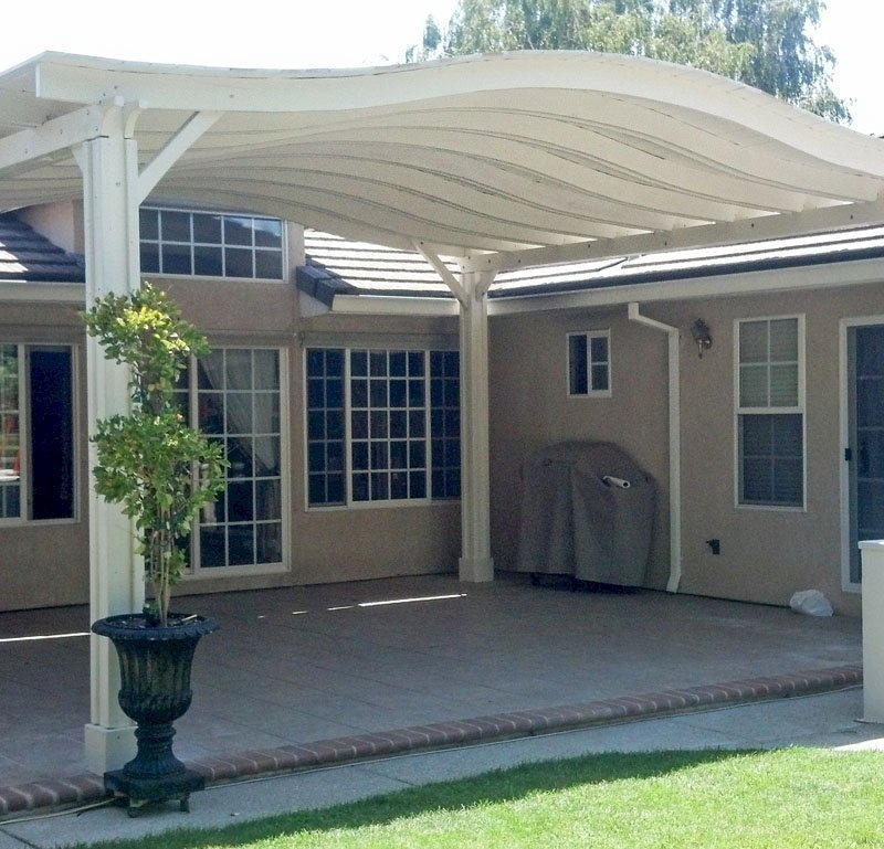 Backyard Pavilion (Options: 22' x 20', Douglas-fir, No Electrical Wiring Trim, 4 Post Anchor Kit for Stone, No Ceiling Fan Base, No Privacy Panels, No Curtain Rods, 10 ft Post Height, Custom Color).