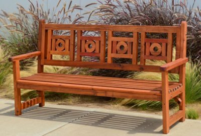 Caneel Bay Garden Bench