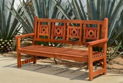 Caneel Bay Garden Bench
