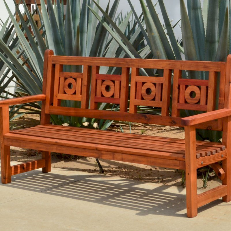 Surprising Outdoor Wooden Bench With Design For Garden Seating Machost Co Dining Chair Design Ideas Machostcouk