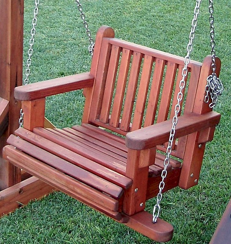 The Classic Seat design for the Armchair Garden Swing Seat (no extra charge)