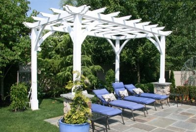 Cherry Hill Outdoor Pergola Kit