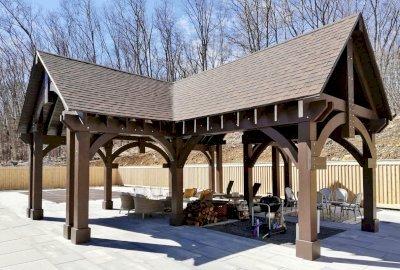 Custom Wood Pavilion Kits