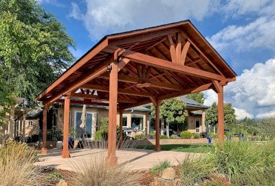 Del Norte Outdoor Kitchen Pavilion