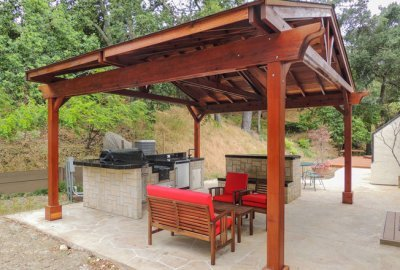Del Norte Outdoor Kitchen Pavilion
