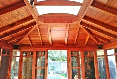 DIY Wood Gazebo