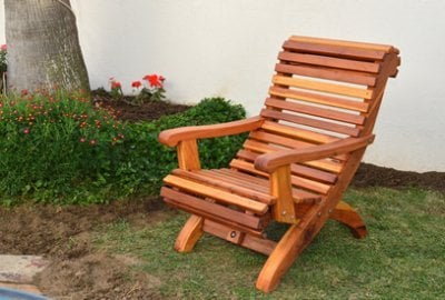 Ensenada Wood Easy Chair