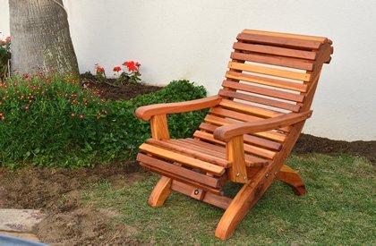 Ensenada Wood Easy Chair