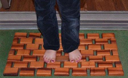 Flexible Wood Floor Mats