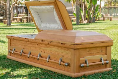 Forever All Natural Wood Casket