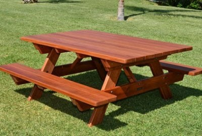 Forever Picnic Tables (Attached Benches)