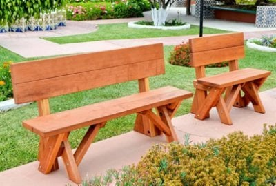 Fullback Wood Picnic Bench