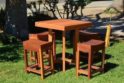 Gladys's Balcony Table Set
