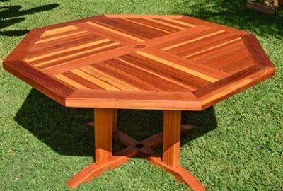 Helen's Octagonal Terrace Tables