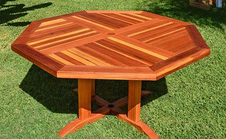 Helen's Octagonal Terrace Tables