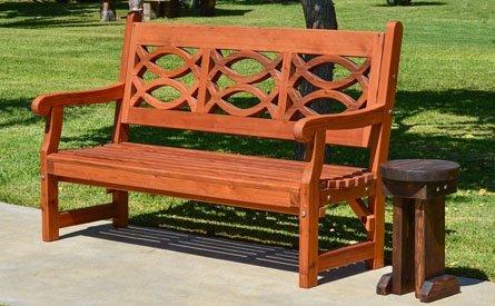 Hennell Wooden Garden Bench