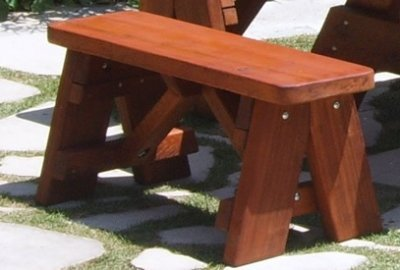 Heritage Wooden Picnic Bench