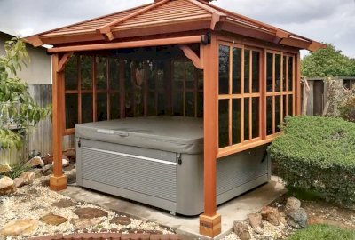Hot Tub Enclosure Kits / Hot Tub Pavilion