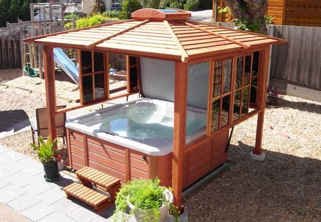 Hot Tub Enclosure Kits / Hot Tub Pavilion