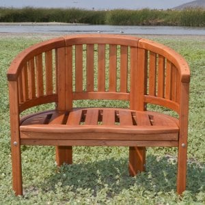 Jane's Key West Chair (Options: Old-Growth Redwood, No Cushion, No Engraving, Transparent Premium Sealant)