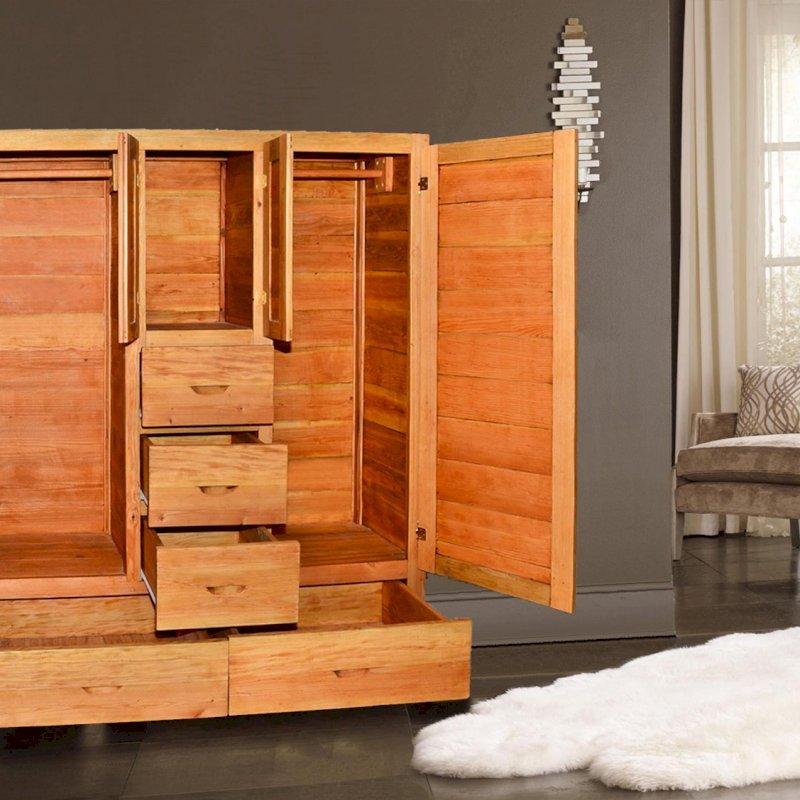 Jessie's Dresser (Options: Douglas-Fir, Transparent Premium Sealant).