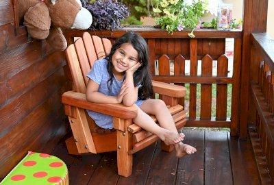Kid's Wooden Adirondack Chair