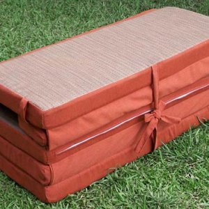 Lounger Cushions (options: Double, Penny's, 4 inches Thicknes, Five sections, custom color)