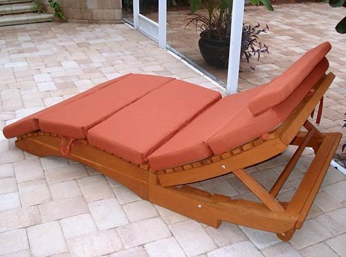 Lounger Cushions (Options: Double, Penny's, 4 inches Thicknes, Five Sections, Custom Color).