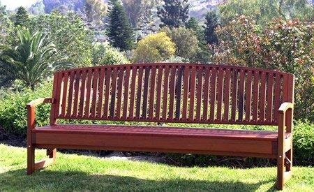 Luna Wood Bench