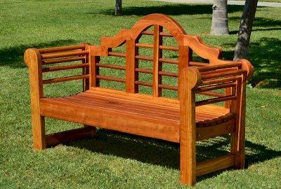 Lutyens Wooden Bench