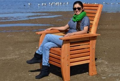Marazul Wooden Beach Chair