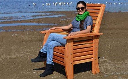 Marazul Wooden Beach Chair