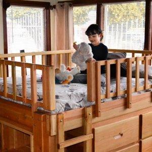 Marissa's Adventure Loft (Options, Double Bed Size, Douglas, Transparent Premium Sealant).