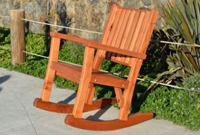 Massive Wood Rocking Chair