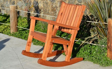 Massive Wood Rocking Chair