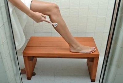 Maynard Wood Shower Bench