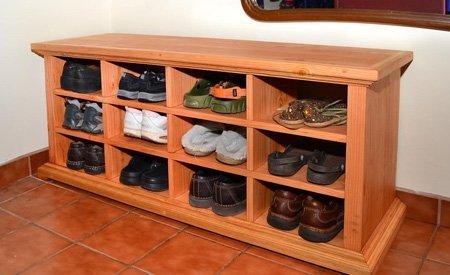Mia's Shoe Cubbies