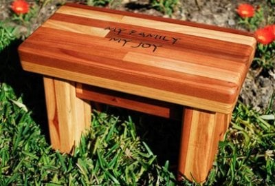 Mini Wooden Foot Stool