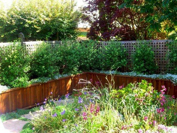 """Napa Planters (Options: 144"""" L x 24"""" W x 24"""" H, Mature Redwood, No Base or Casters, No Trellis, No Growing Vegetables, Transparent Premium Sealant)."""