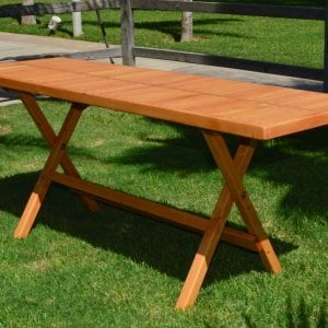 Rectangular Folding Picnic Table (Options: 72