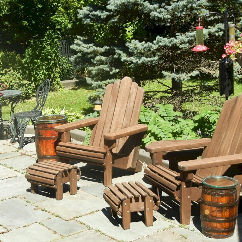 Fantastic Redwood Adirondack Chair Custom Wood Adirondack Chairs Gmtry Best Dining Table And Chair Ideas Images Gmtryco