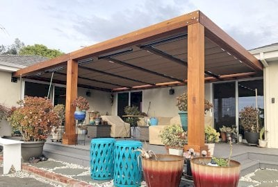 Retractable Canopy Pergola