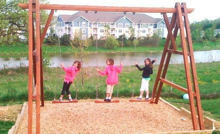 Rory's Giant Playground Swing Sets