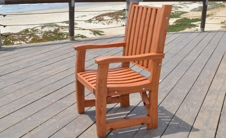 Ruth Redwood Dining Chair