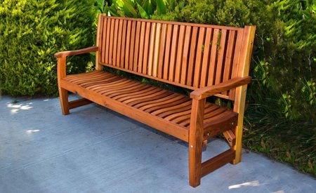 Ruth Wooden Bench